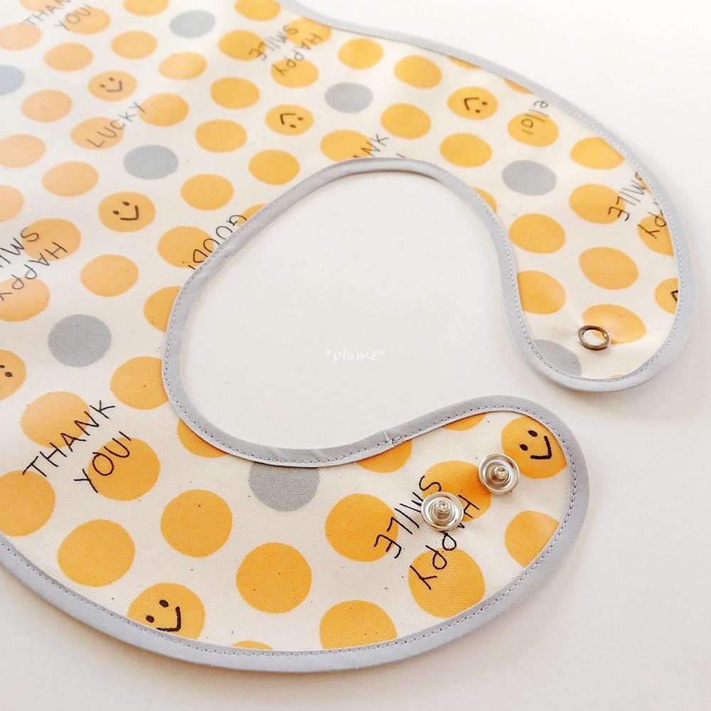 お食事エプロン・離乳食に便利な赤ちゃん用品 スマイリー